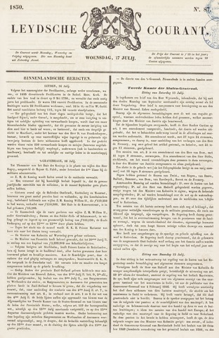 Leydse Courant 1850-07-17
