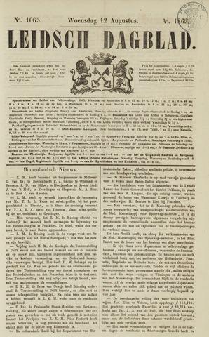 Leidsch Dagblad 1863-08-12