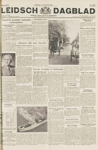 Leidsch Dagblad 1954-08-03