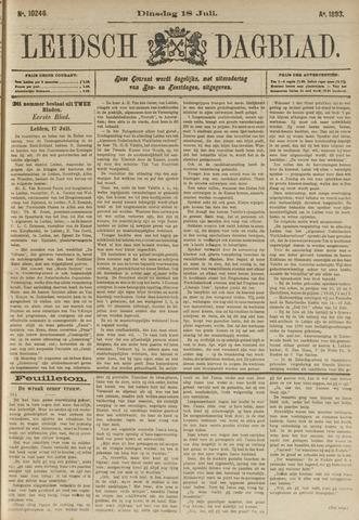 Leidsch Dagblad 1893-07-18