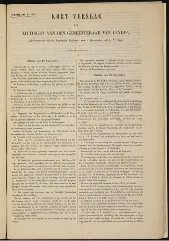 Handelingen van de Raad 1855-11-22