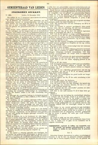 Handelingen van de Raad 1916-11-14