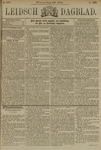 Leidsch Dagblad 1890-07-30