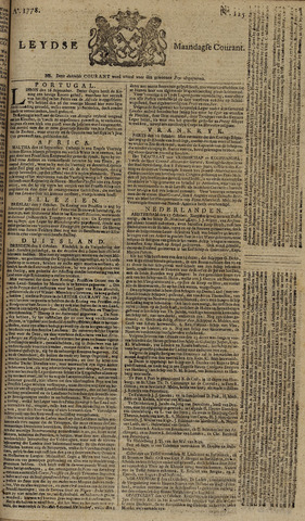 Leydse Courant 1778-10-19