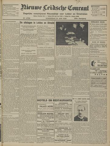 Nieuwe Leidsche Courant 1939-06-15