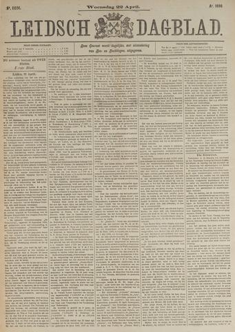 Leidsch Dagblad 1896-04-22