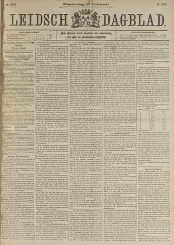 Leidsch Dagblad 1896-02-27