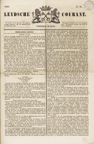 Leydse Courant 1862-07-30