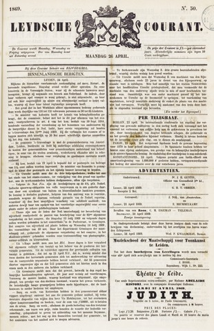 Leydse Courant 1869-04-26