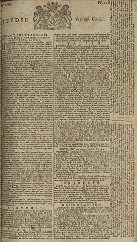 Leydse Courant 1760-09-26