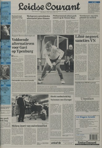 Leidse Courant 1992-04-15