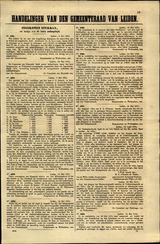 Handelingen van de Raad 1875-05-08