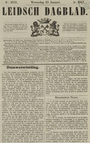 Leidsch Dagblad 1867-01-23