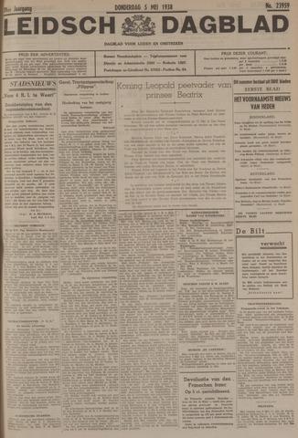 Leidsch Dagblad 1938-05-05
