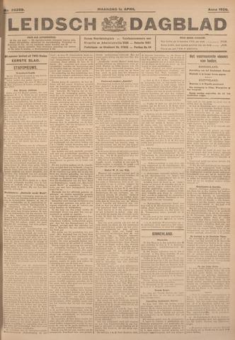 Leidsch Dagblad 1926-04-12