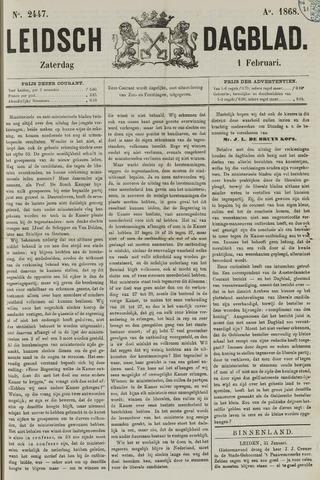 Leidsch Dagblad 1868-02-01
