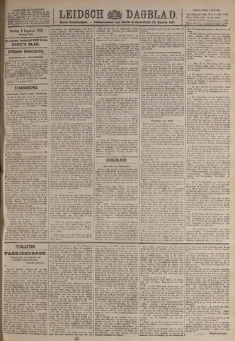 Leidsch Dagblad 1920-08-03