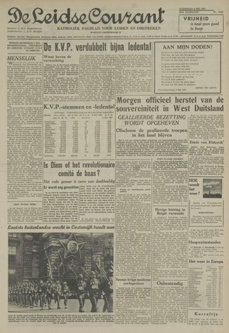 Leidse Courant 1955-05-04