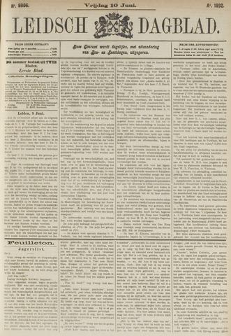 Leidsch Dagblad 1892-06-10