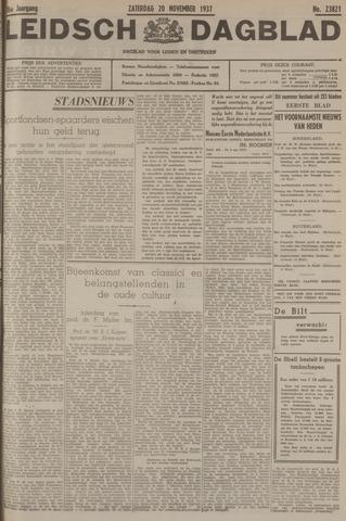 Leidsch Dagblad 1937-11-20