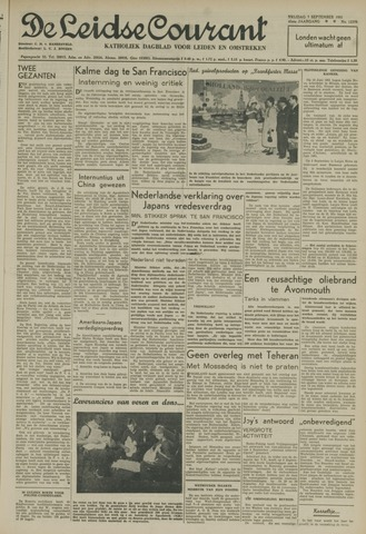 Leidse Courant 1951-09-07