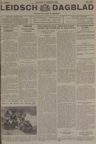 Leidsch Dagblad 1935-08-12