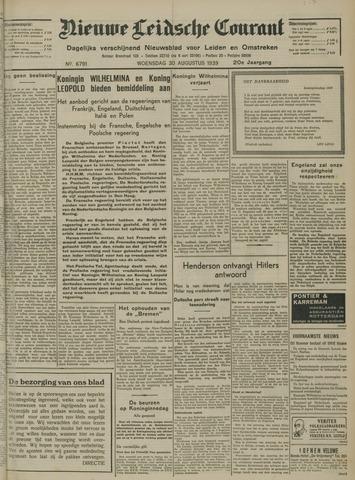 Nieuwe Leidsche Courant 1939-08-30