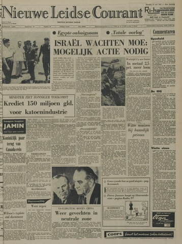 Nieuwe Leidsche Courant 1967-05-27