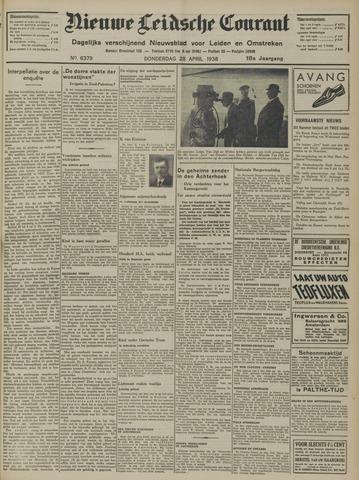 Nieuwe Leidsche Courant 1938-04-28