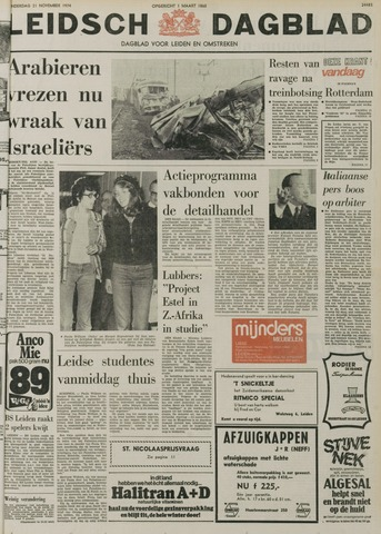 Leidsch Dagblad 1974-11-21