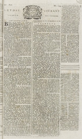 Leydse Courant 1817-11-07