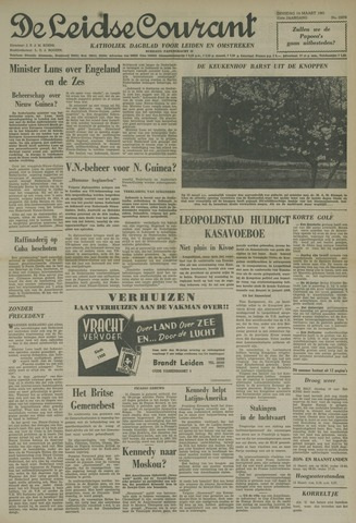 Leidse Courant 1961-03-14