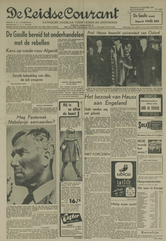 Leidse Courant 1958-10-24