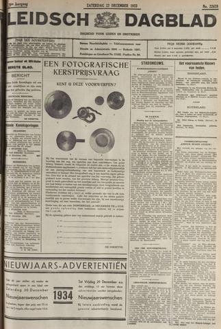 Leidsch Dagblad 1933-12-23