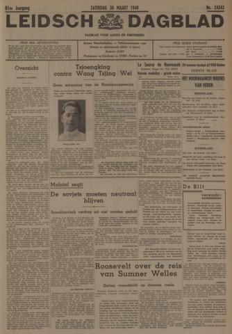 Leidsch Dagblad 1940-03-30