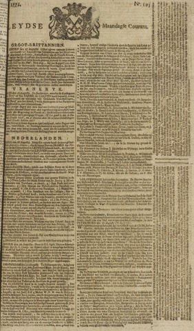 Leydse Courant 1771-09-02