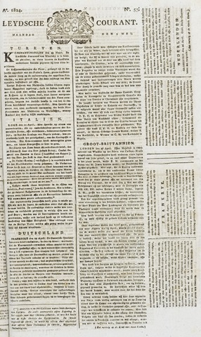 Leydse Courant 1824-05-03
