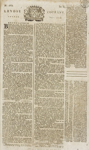 Leydse Courant 1815-07-07