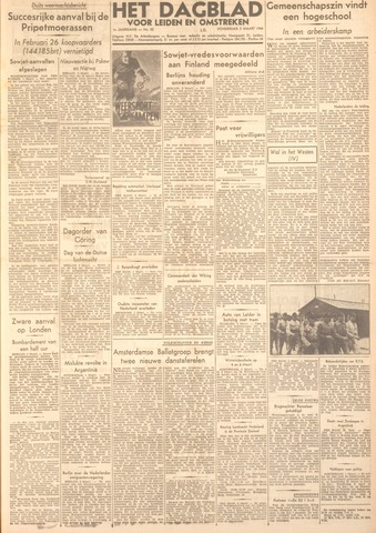 Dagblad voor Leiden en Omstreken 1944-03-02
