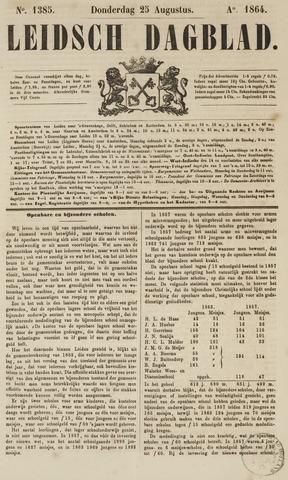 Leidsch Dagblad 1864-08-25