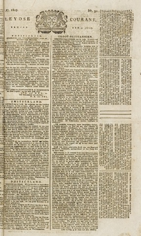Leydse Courant 1819-07-30