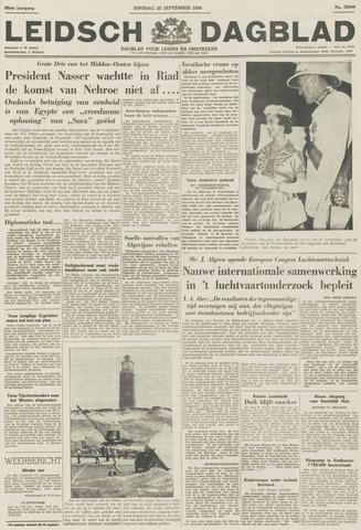 Leidsch Dagblad 1956-09-25