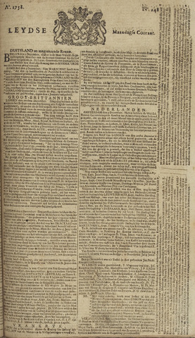 Leydse Courant 1758-12-11