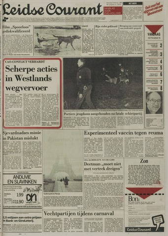 Leidse Courant 1989-02-06
