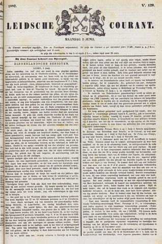 Leydse Courant 1882-06-05