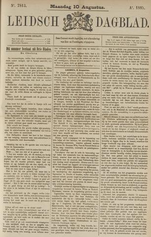 Leidsch Dagblad 1885-08-10
