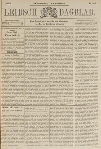 Leidsch Dagblad 1893-10-11