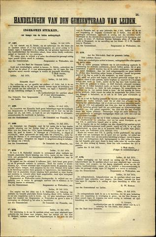Handelingen van de Raad 1875-07-10