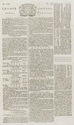 Leydse Courant 1820-10-25