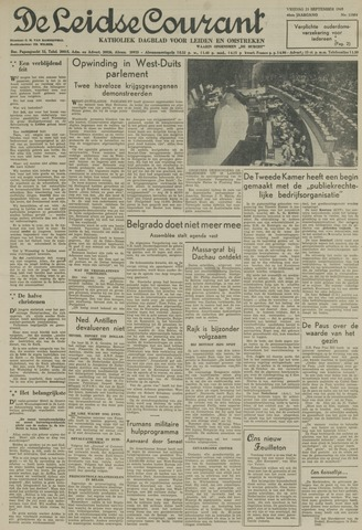 Leidse Courant 1949-09-23